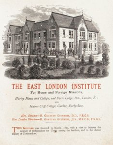 The East London Institute for Home and Foreign Missions