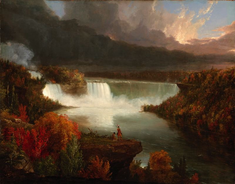 distant-view-of-niagara-falls-by-thomas-cole