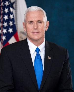 White House Official Photo - Vice President Mike Pence